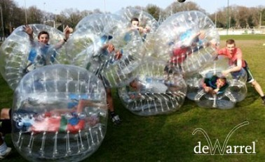 Bubbelvoetbal € 22,99 per persoon