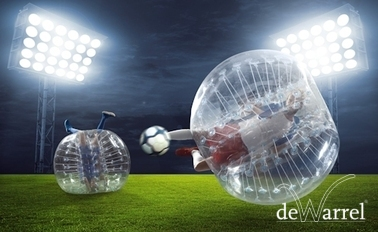 Bubbelvoetbal € 23,99 per persoon