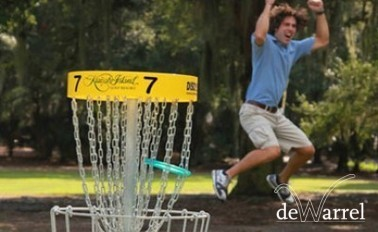 Discgolf € 18,99 per persoon